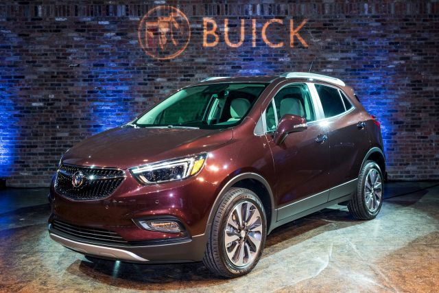 2019 Buick Encore front