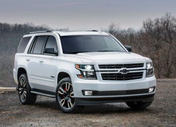2019 Chevy Tahoe front