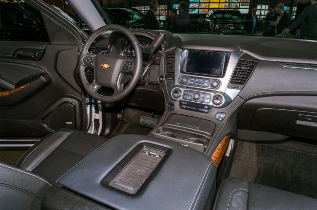 2019 Chevy Tahoe interior