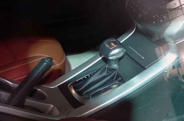 2019 Lotus SUV interior