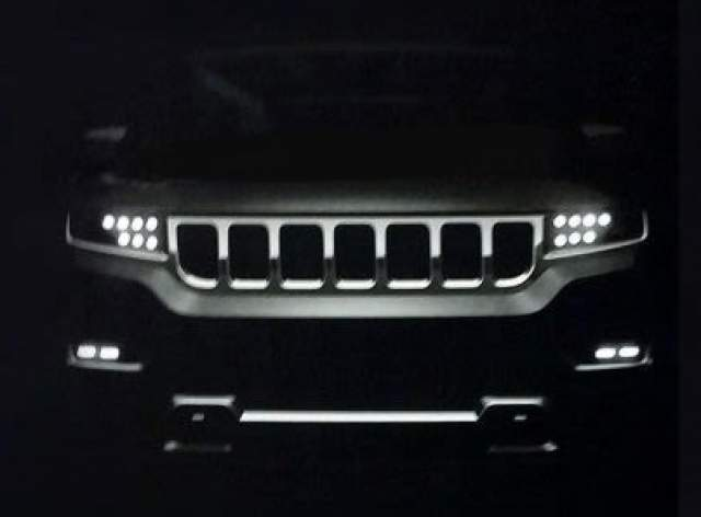2019 Jeep Wagoneer front