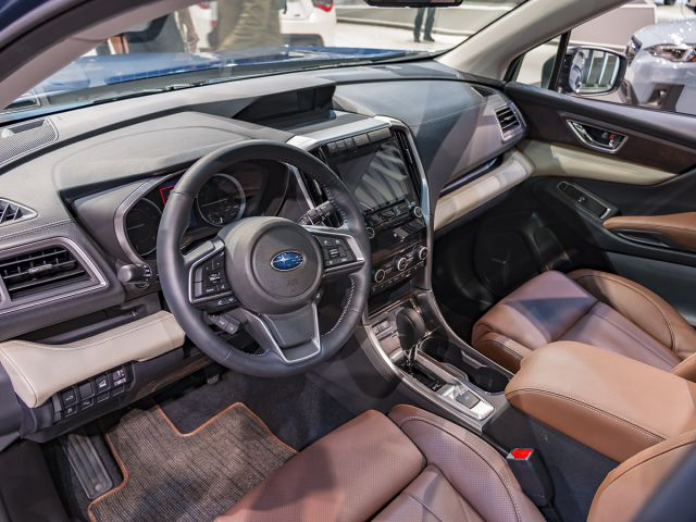 2019 Subaru Ascent interior view