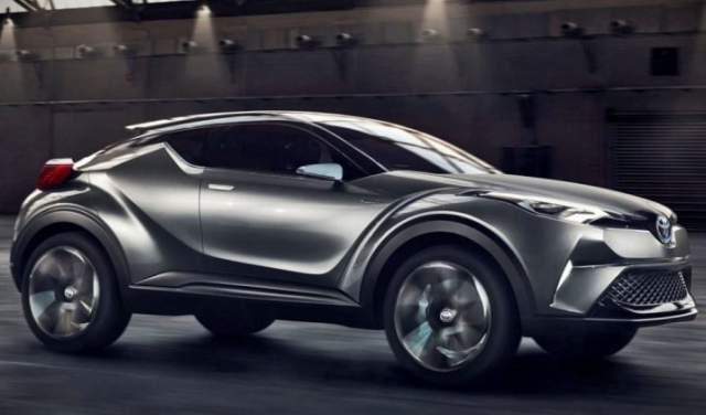 2019 Toyota C-HR concept