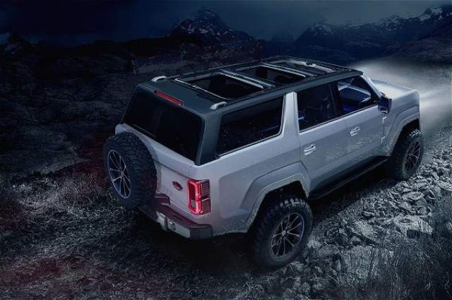 2020 Ford Bronco rear
