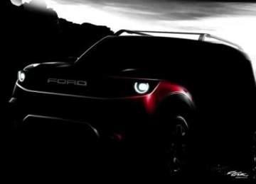 2020 Ford Bronco Off-Road teaser