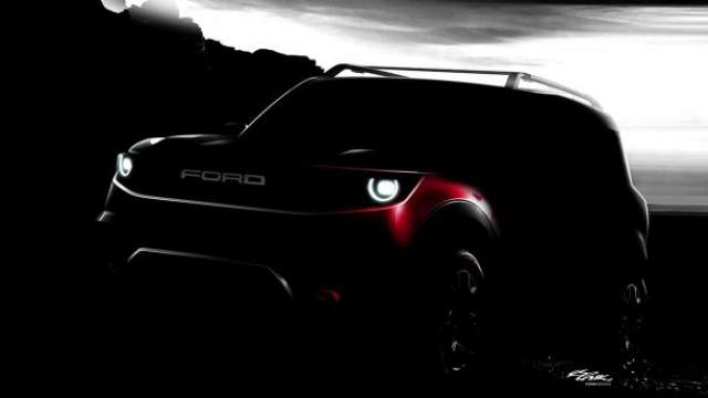 2020 Ford Bronco Off-Road teaser