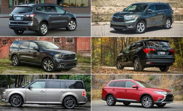 2019 Best Midsize SUVs On The US Market