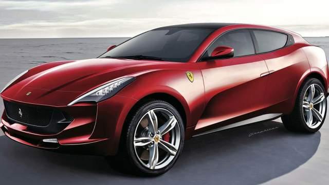 2019 Ferrari SUV Hybrid concept