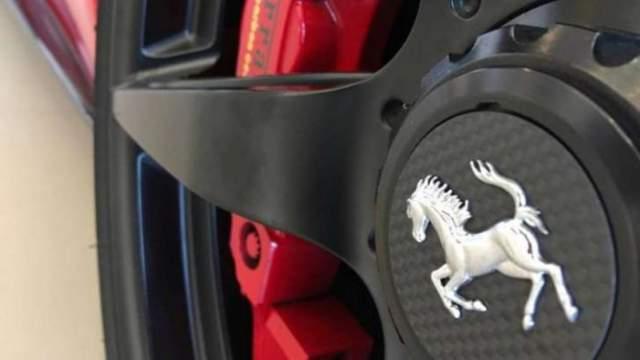 2019 Ferrari SUV Hybrid prancing horse
