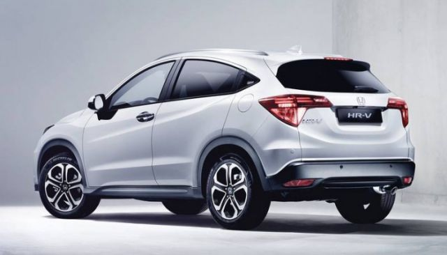 2019 Honda HR-V rear