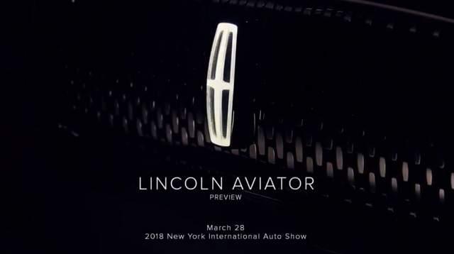 2019 Lincoln Aviator premiere