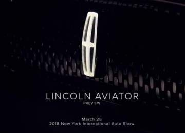 2019 Lincoln Aviator premiere