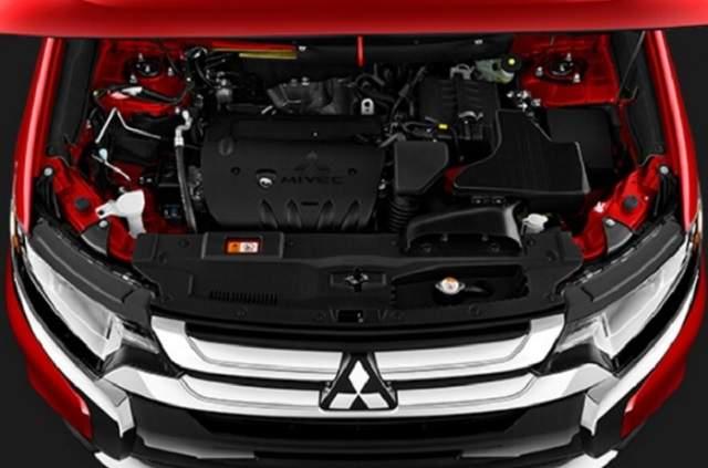 2019 Mitsubishi Outlander Sport engine