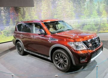 2019 Nissan Armada front