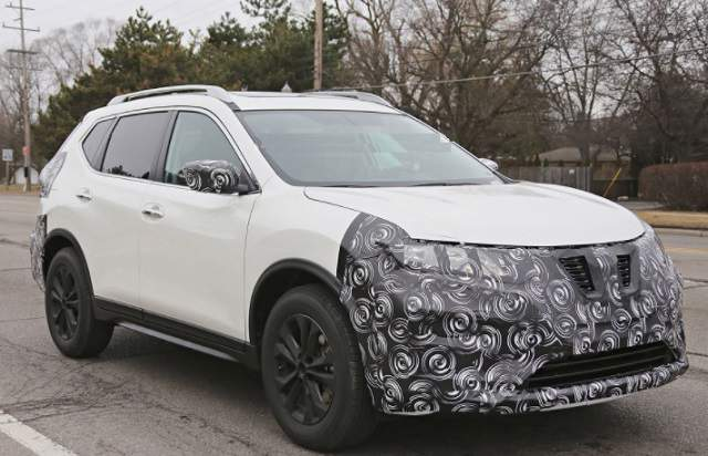 2019 Nissan Rogue Sport spied