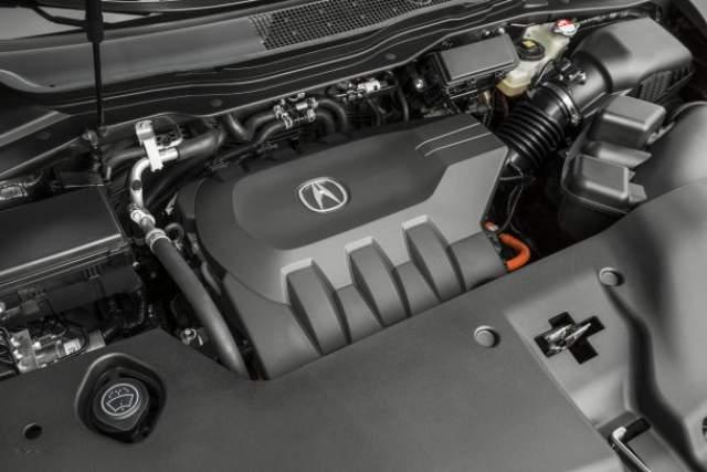 2019 Acura CDX Hybrid engine