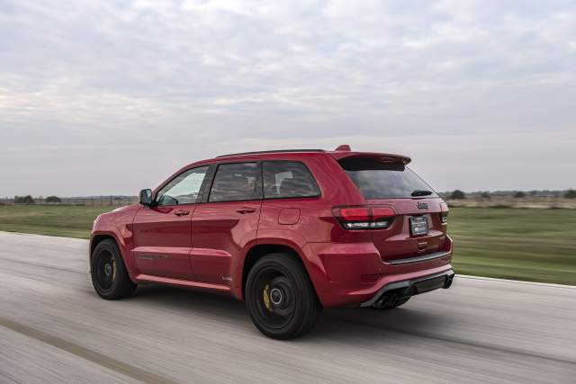 2019 Jeep Grand Cherokee Trackhawk Hennessey rear