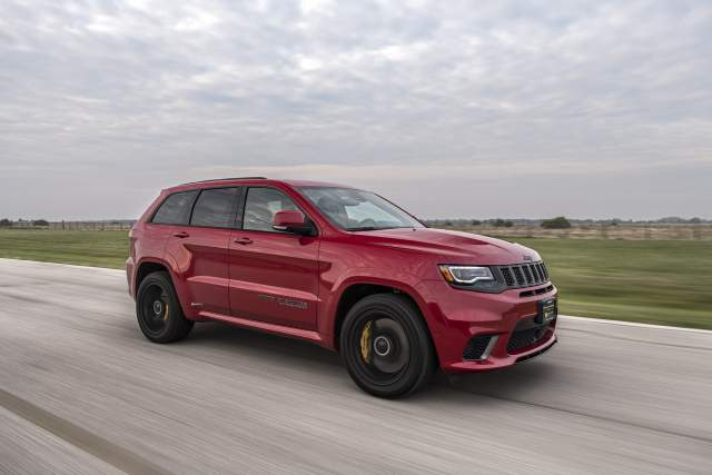 2019 Jeep Grand Cherokee Trackhawk Hennessey