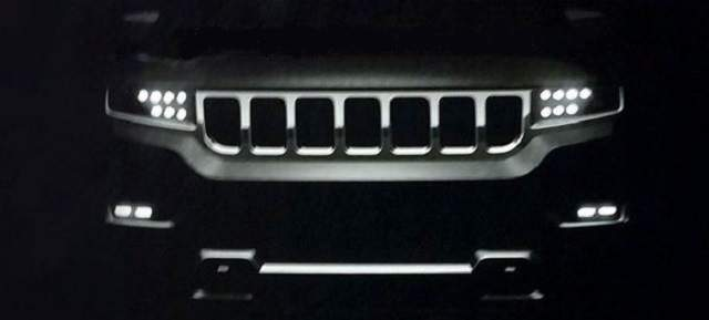 2019 Jeep Grand Wagoneer teaser
