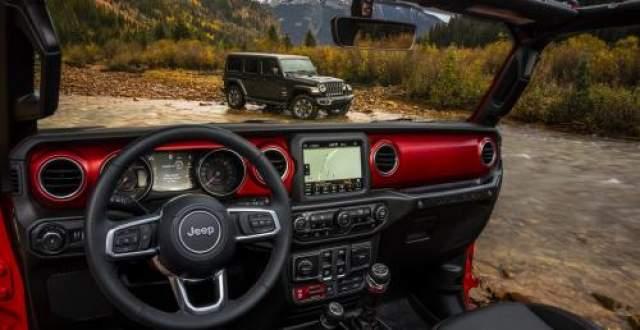 2019 Jeep Wrangler Diesel interior