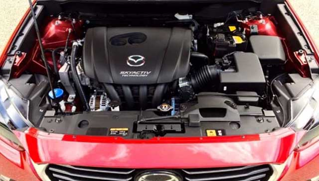2019 Mazda CX-3 engine