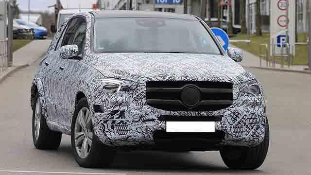 2019 Mercedes-Benz GLE spy shots