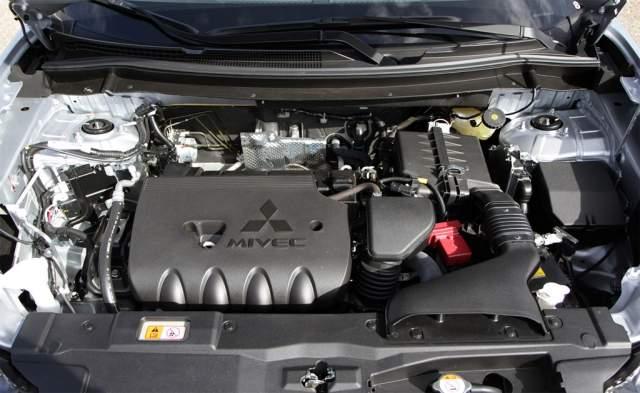 2020 Mitsubishi Outlander engine
