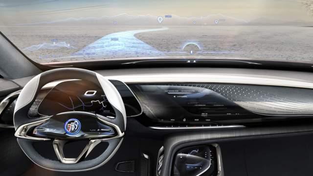 Buick Enspire EV interior