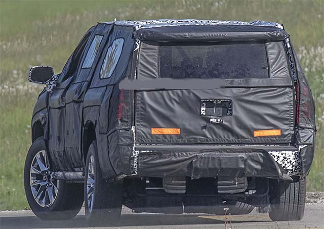 2020 Chevy Suburban rear