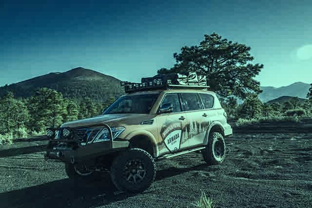 2019 Nissan Armada Mountain Patrol front