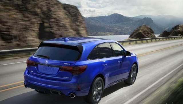 2019 Acura MDX rear