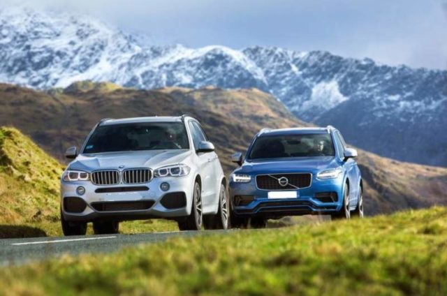 2019 BMW X5 vs 2019 Volvo XC90