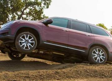 2020 Honda Pilot off-road