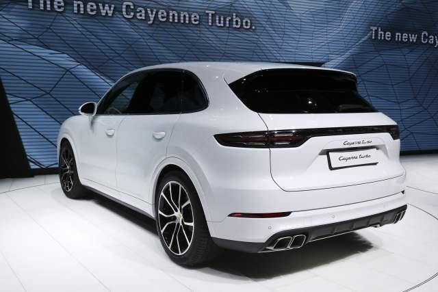 2019 Porsche Cayenne Turbo 0-60