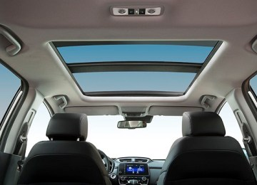 2020 Honda CR-V panoramic sunroof