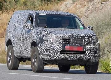 2020 Nissan Pathfinder spied