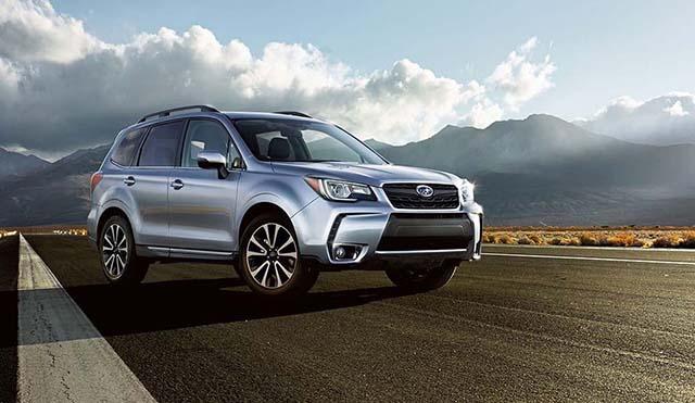 Subaru Forester XT towing capacity