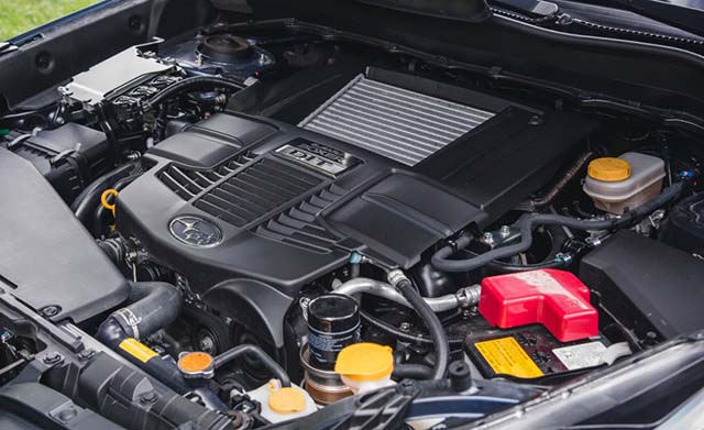 Subaru Forester XT turbo engine