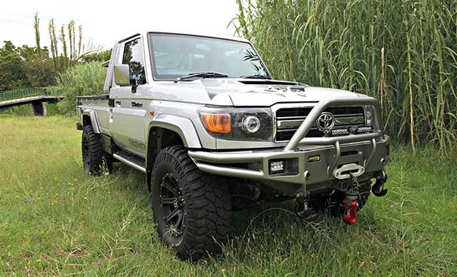 2020 Toyota Land Cruiser truck