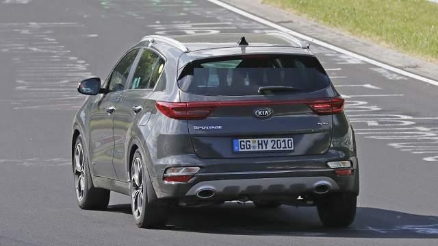 2020 Kia Sportage hybrid