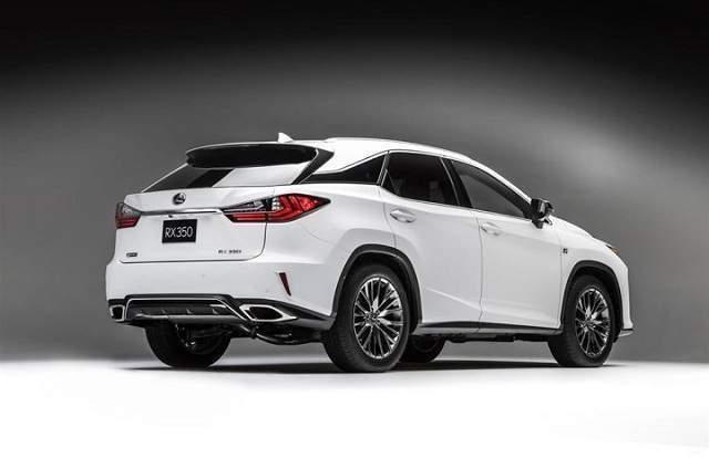 2020 Lexus RX 350 redesign