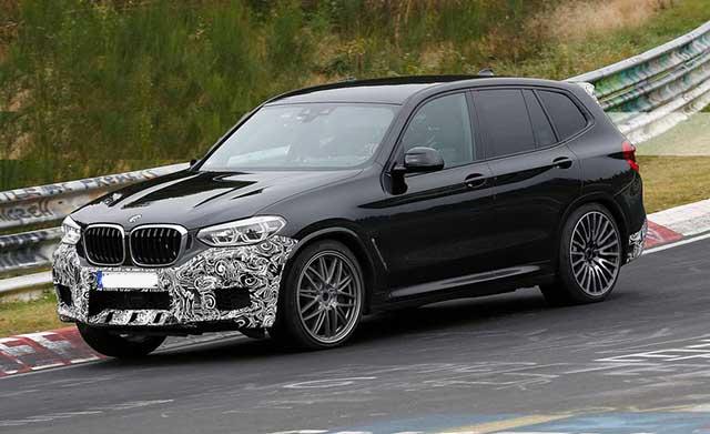 2020 BMW X3 spy photos