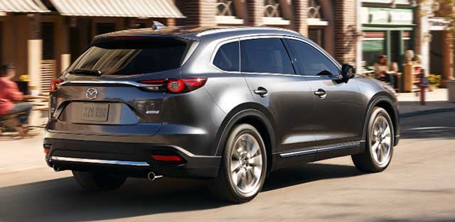 2020 Mazda CX-9 changes