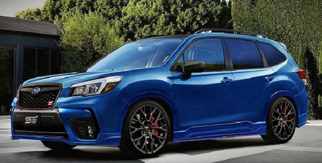 2020 Subaru Forester STI reder