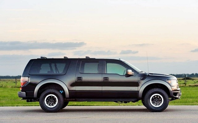 2020 Ford Excursion specs and towing capacity