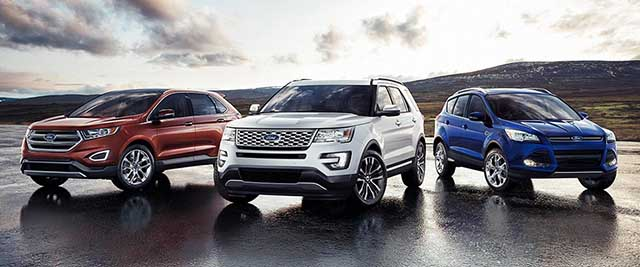 2020 Ford SUV Lineup