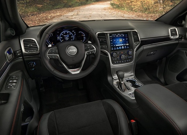 2020 Jeep Compass interior