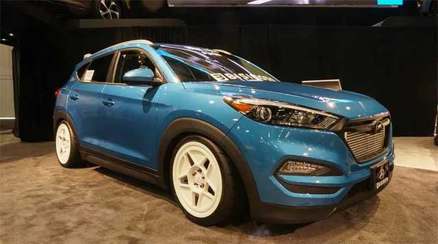 Hyundai Tucson 700 hp SUV