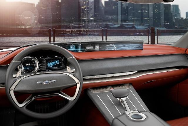 2020 Genesis GV70 interior