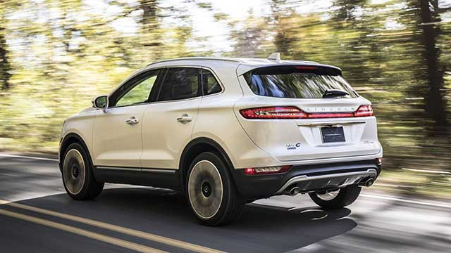2020 Lincoln MKC changes
